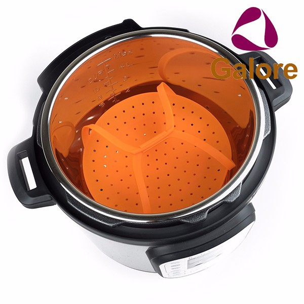 Vegetable Wholesale Price Travel Food Silicone Rubber Steamer