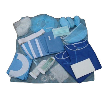 Clean Maternal Sterile A Woman Giving Kit Medical Hospital ...