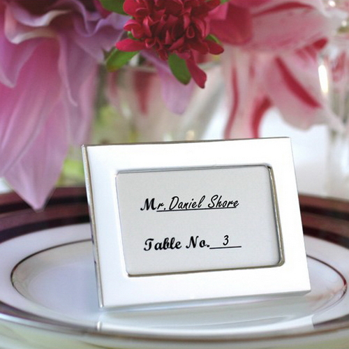 Mini Picture Frame Wedding Favors Wedding Decorations