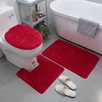 Wholesale production of high - quality bibulous non - slip carpet toilet mat door mat