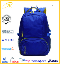 ISO9001 audit factory Basic design Standard cheap promotion backpack bag