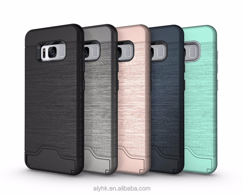 Metalic Hybrid Armor Cover For J7 2017 LG K20 LG STYLO 3 Armor Case