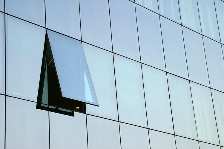 China factory best price safe aluminium mirror glass curtain wall ...