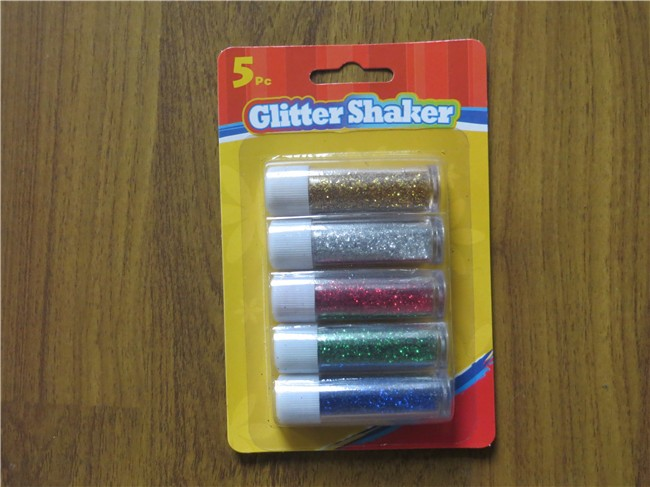 New Popular Factory High Quality Blister card packing Washable Children DIY Glitter Glue 3D effect