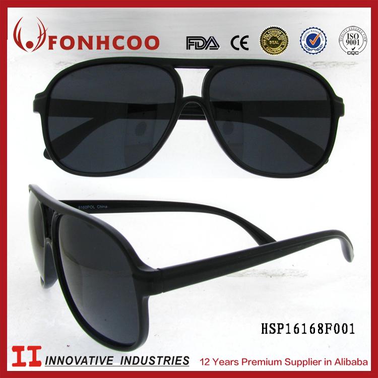 a058d2a034aee المصنع مباشرة الجملة الأسهم fonhcoo الشاطئ الرجل النظارات الشمسية السوداء  من اليابان