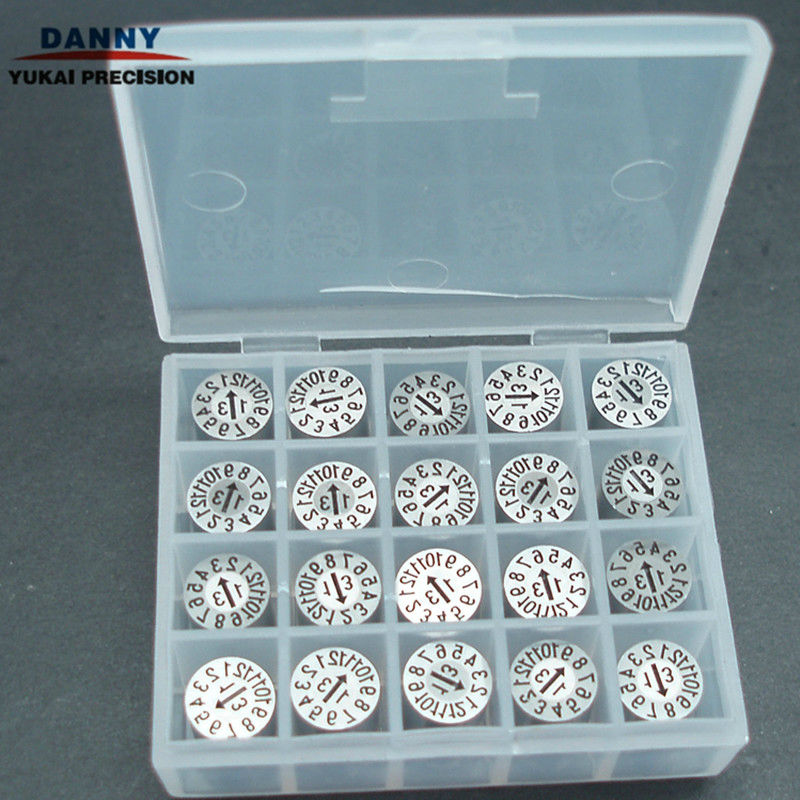 plastic injection mould insert dater/mould date Inserts/date indicators
