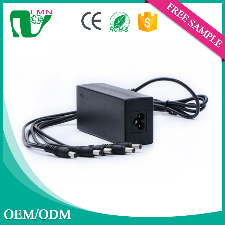 universal dc adapter ac220v dc 5.5v 10a power supply 55w power adpater with CE