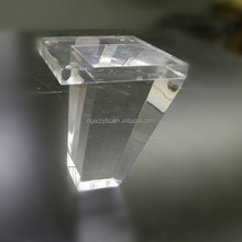 Wholesale plastic furniture clear acrylic bench leg
