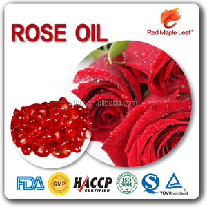 Anti-aging Beauty and Skincare Rose Essential Oil Capsules