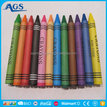 factory price children school supplies wax crayon for drawing buy