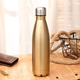 best selling double wall insulated subzero 18 / 8 stainless steel custom thermo vacuum flask bottle for hot water wholesale