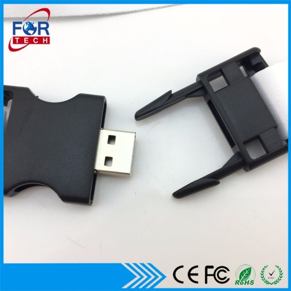 Promotional Gift Pen Wafer Usb Card neckstrap usb stick gift usb flash drive