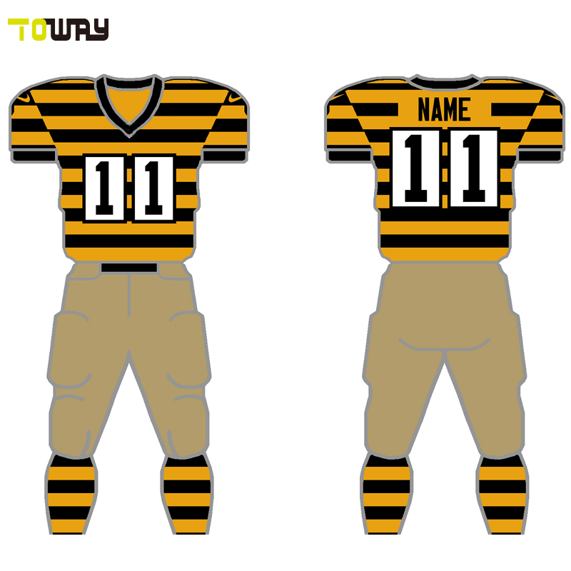 toddler red and white sublimated football jerseys manufacturers