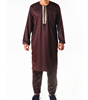 New Design Gown Jubba Muslim Wear Islamic Clothing Thawb Arabic Thobe Men