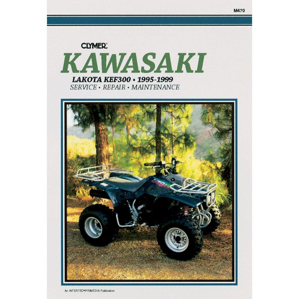 Get Quotations · 1995-1999 KAWASAKI KEF300 LAKOTA SERVICE MANUAL KAWASAKI,  Manufacturer: CLYMER, Manufacturer Part