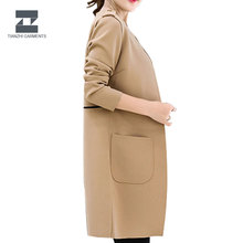 Wholesale cheap women's long coat muslim coat women 2 in 1