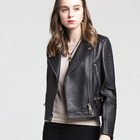 Normal Genuine Animal Skin jacket woman Sheep Leather Coat