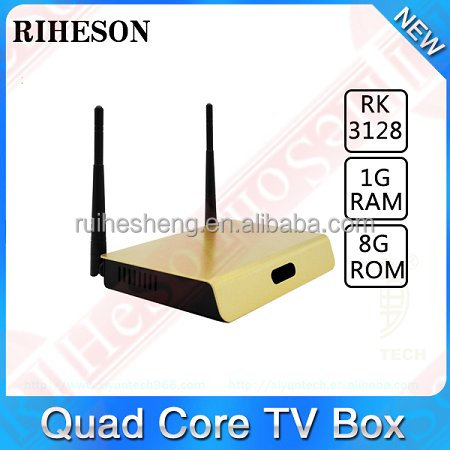 Top Quality Internet TV Box Preinstalled IPTV 2016 Cheapest Android Smart TV Box