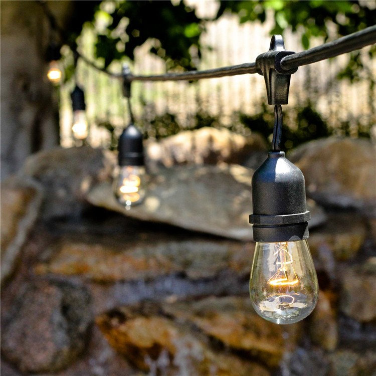 Commercial Decorative Outdoor Edison Globe Patio Vintage S14 E26  Incandescent Light Bulb Holiday Lighting Led String