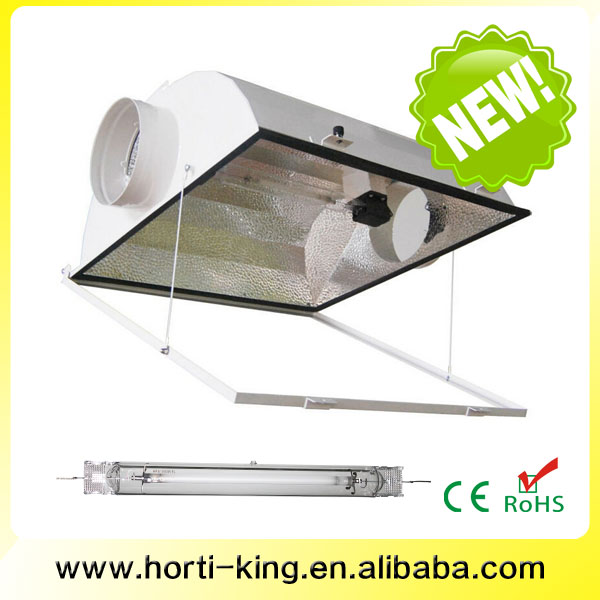 double ended wing lampshade air cooled light reflector