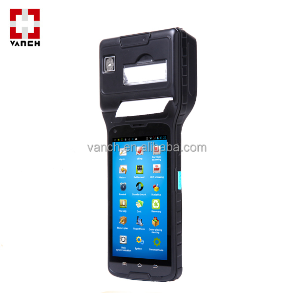 Android mobile rfid-lese WIFI/4G/Bluetooth/UHF/NFC/Thermodrucker