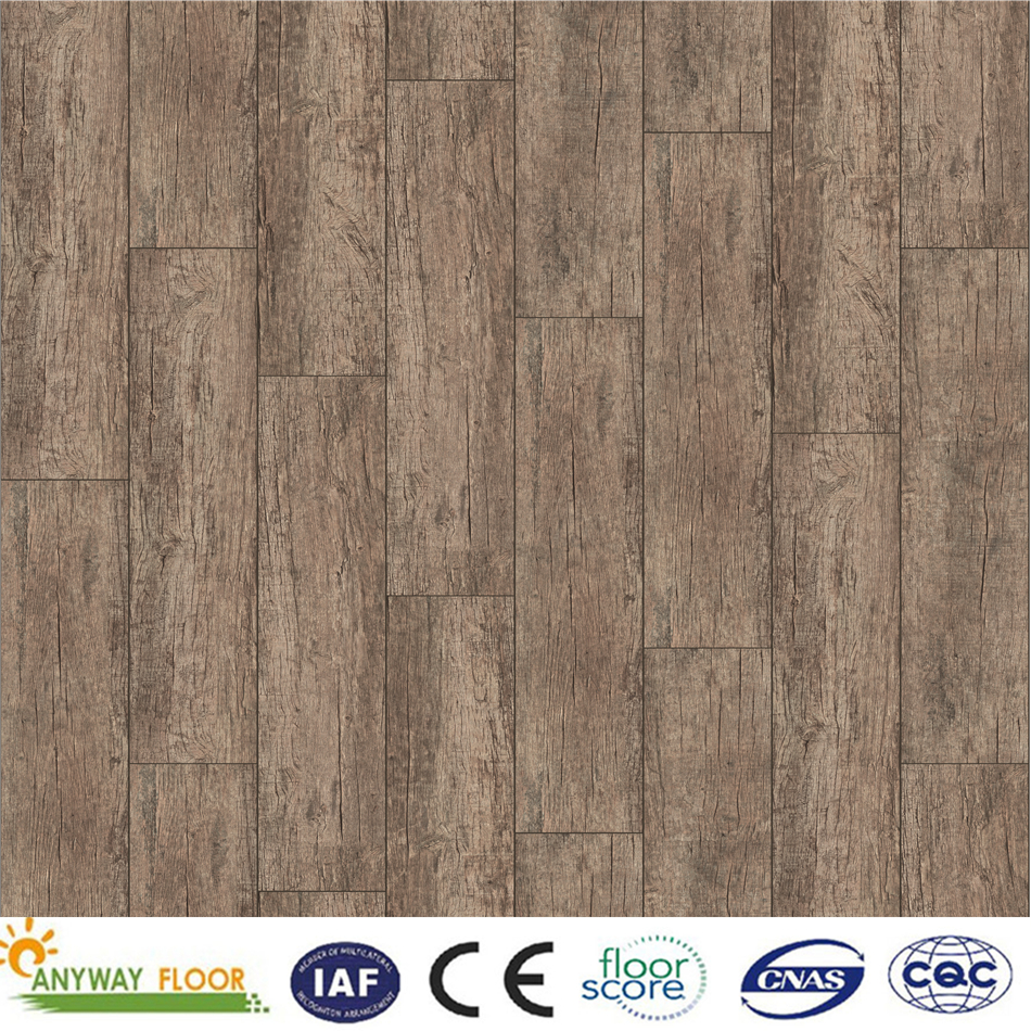 Vinyl Wood Plastic Composite WPC indoor Flooring Various Patterns Available