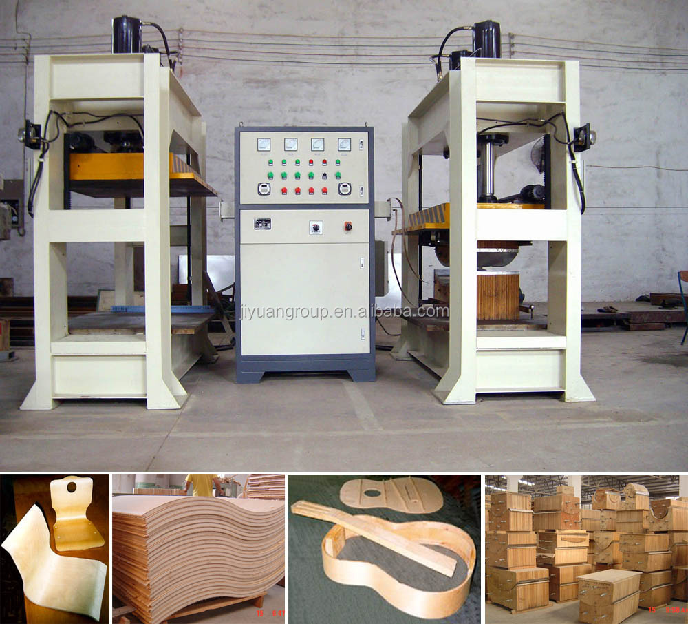 Bending plywood machine