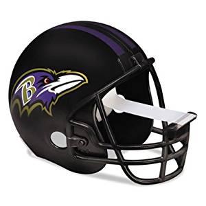 """3M NFL Helmet Tape Dispenser, Baltimore Ravens, Plus 1 Roll Tape 3/4"""" x 350"""""""