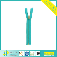 metal zippers with any color teeth all length metal zipper for children clothing