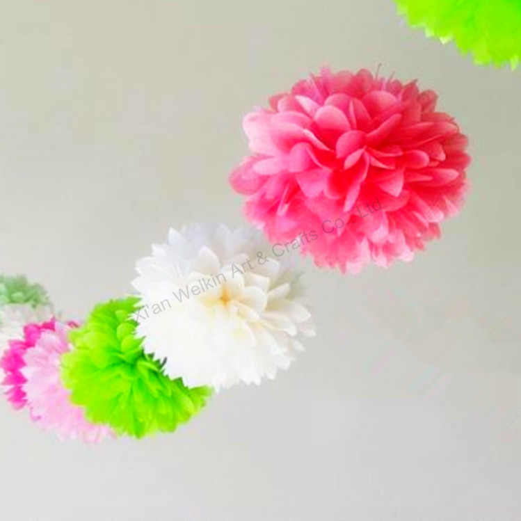 Festival & party supplies paper pompoms flower ball