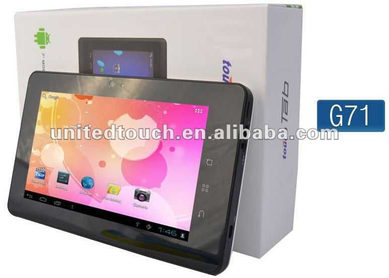 HOT promotion 7 inch panel computer Android 4.0 G71