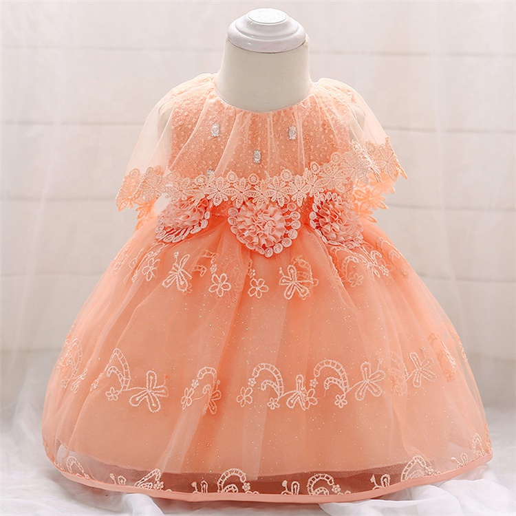 Hot Sale Cheap Top Quality Custom Prinecess Vestidos Gril Do Bebê