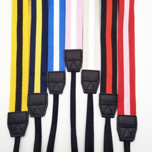 ZONESIN Adjustable Striped Cotton Shoulder Neck Straps For Camera