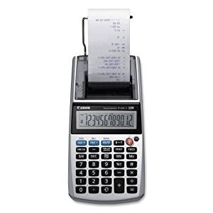 "Canon 12-Digit Printing Calc W/Tax, 3-13/16""X8""X2"", Gray *** Product Description: Canon 12-Digit Printing Calc W/Tax, 3-13/16""X8""X2"", Gray12-Digit Portable Printing Calculator With Tax And Business Calculations Prints 2 Lines Per Second In Purple ***"