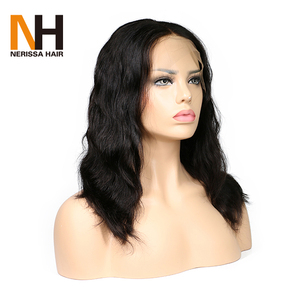 High Quality Low Densit Pineapple Wave Natural Color Lace Front Wig Like Pictures Beautiful Ladies Part Anywhere Wig