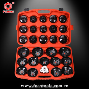 Alibaba China Best Selling Auto Garage Repair Hand Tools FS2364D Oil Filter Cap Wrench 30pcs