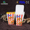 Amazon hot sale custom made paper bag food packaging noodle popcorn soup fried chips fried chicken box best quality low price