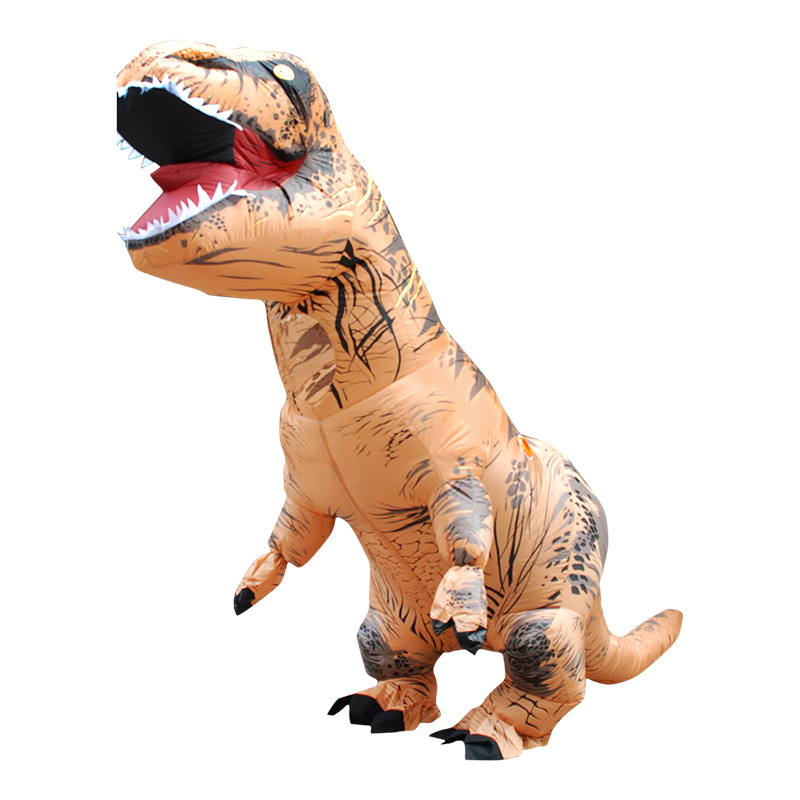 Vente chaude gonflable animal costumes halloween gonflable marche dinosaure costumes pour adultes