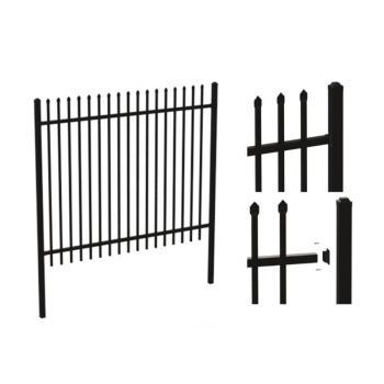 High Quality!Cheap Price!Construction & Real Estate Customized Zinc Steel Fence Panels Cheap Wrought Iron Fence Panels for Sale