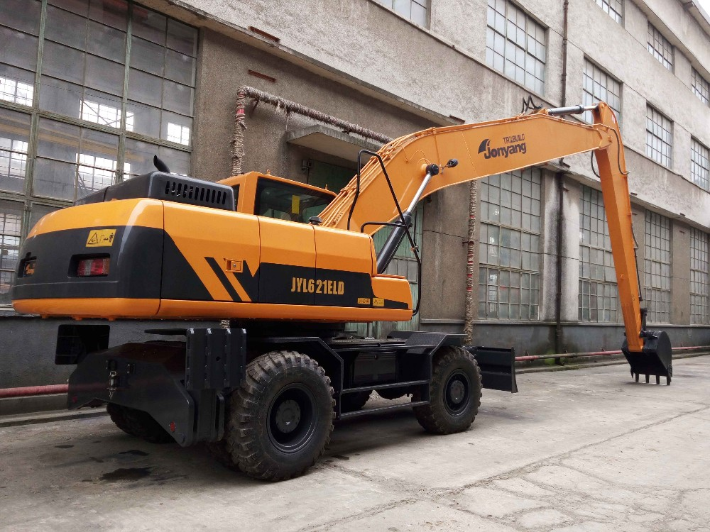 21 tons Long boom Wheel Excavator supplier in China