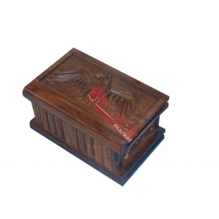 Wholesale Wooden Puzzle Box Eagle - Handcrafted Walnut