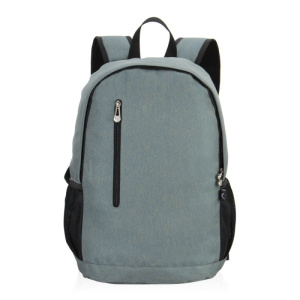 2018 New green twill school laptop backpack