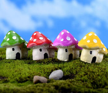 New Product Garden Decoration Resin Kids Mushroom Decorations