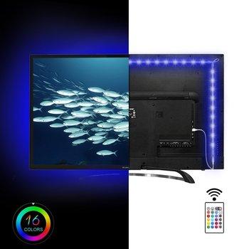 Usb Cable Rgb Led Light Strip Kit Flexible Back 50cm Two Tapes Set Flat Screen Lcd Desktop Computer Led Tv Backlighting Buy Usb Rgb Led Strip Led Tv