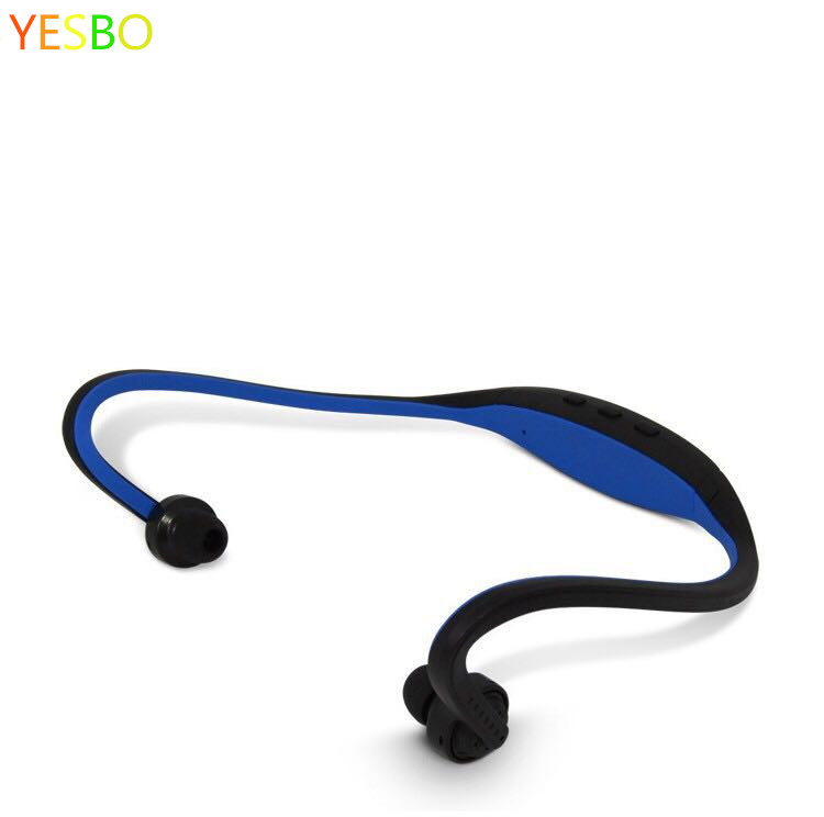 Best price Sport Wireless Earphone S9 FM SD Card Slot with sports running Microphone Headphones for iphone