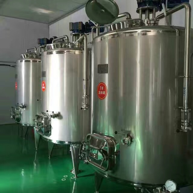 electricity heating storage reacting tank for liquid Jelly Cream Yogurt Coffee Paste storage blending tank