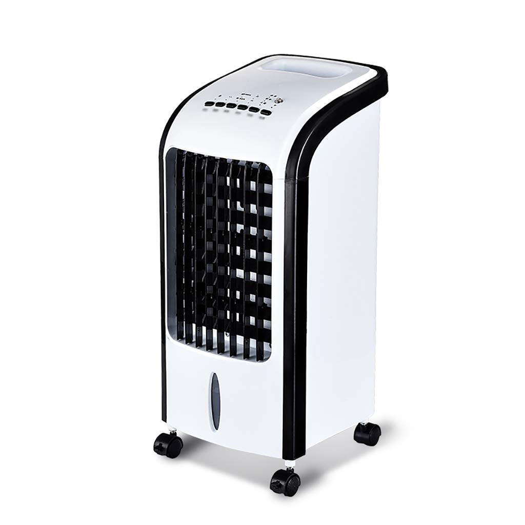 HYXFS Air cooler Air-conditioning fan Refrigeration Humidification Single cold Household mobile Air cooler Cold air conditioner (Color : A, Size : Remote control)