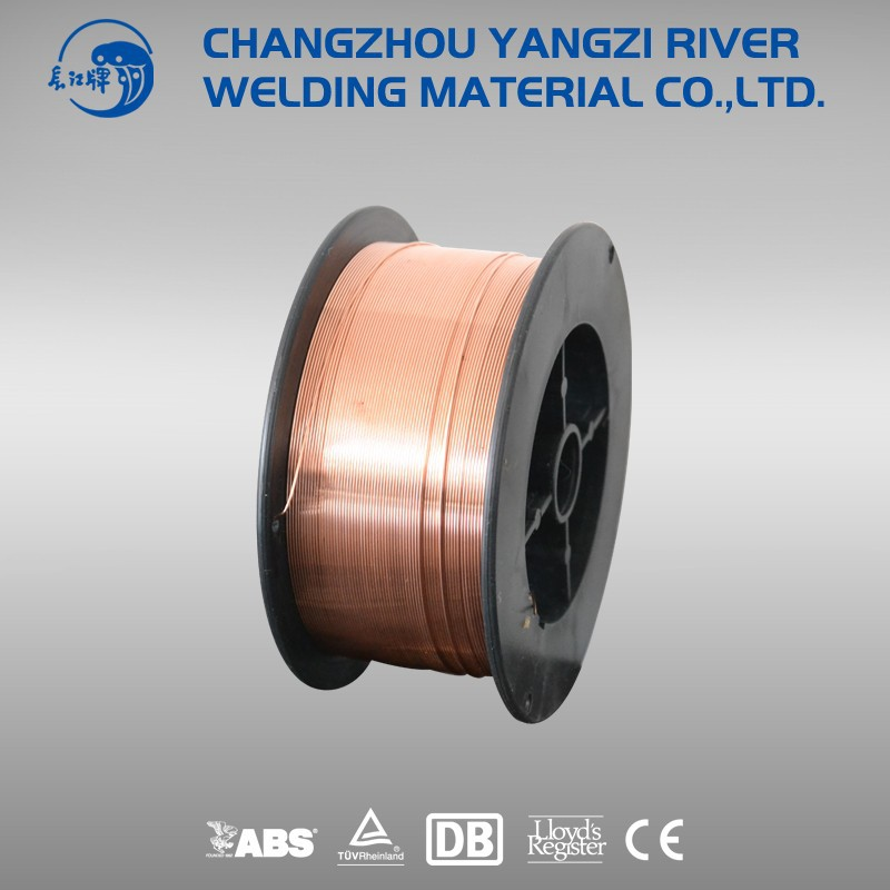 MAG gasless MIG welding wire rod er 70s-6 G3Si1 0.8mm~1.2mm yangzi river