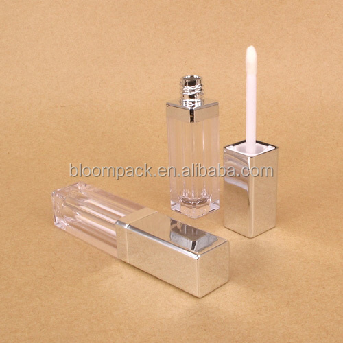 Classic Square Lipgloss Cosmetic Packaging