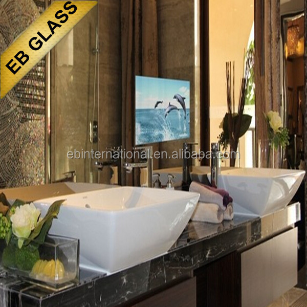 Full Hd Smart Waterproof Mirror Tv Bathroom High End Mirror Tv Eb Glass